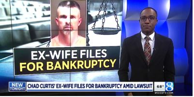 Chad Curtis' Ex-Wife Files For Bankruptcy