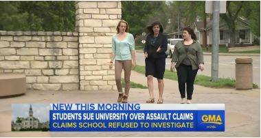 Good Morning America Features Our Title IX Lawsuit Against Kansas State University